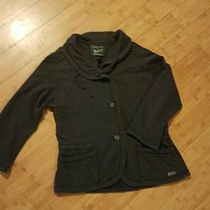 Woolrich Grey 3/4 Sleeve Jacket